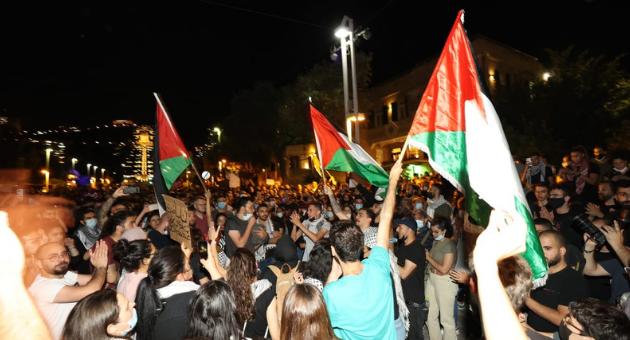 ההפגנה בשדרות בן גוריון