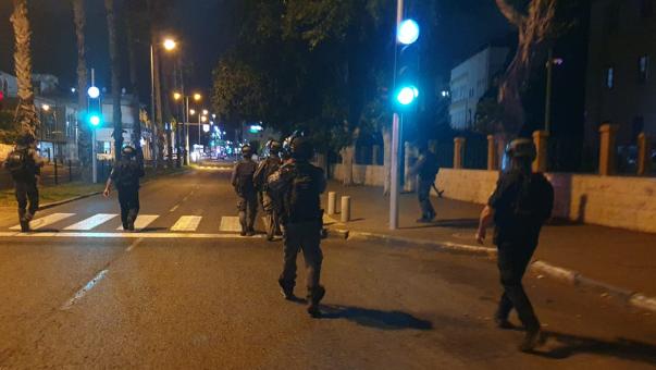 כוחות משטרה בחיפה