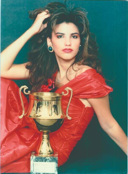 לימור מגן תלם. סגנית מלכת היופי 1988