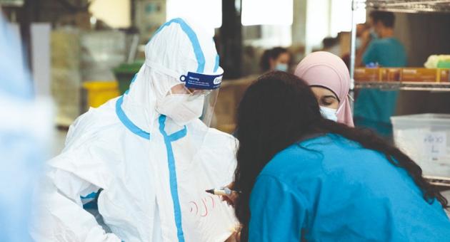 """קורונה בבית חולים רמב""""ם"""