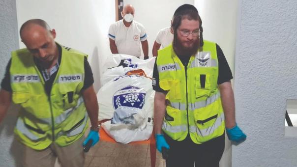 """עובדי זק""""א באירוע בחיפה"""