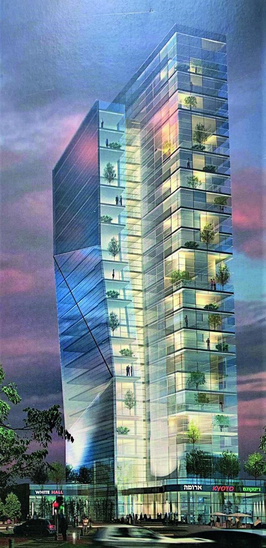 המגדל המתוכנן